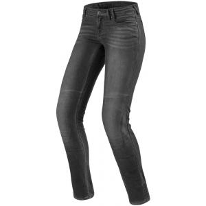 Damskie jeansy motocyklowe Revit Westwood SF szare wyprzedaż