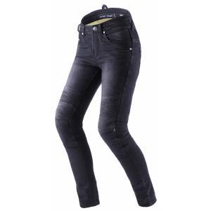 Damskie jeansy motocyklowe Street Racer Spike II CE czarne