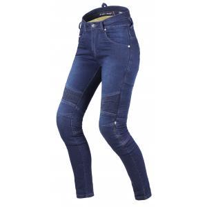 Damskie jeansy motocyklowe Street Racer Spike II CE niebieskie