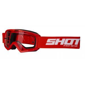 Dětské motokrosové brýle Shot Rocket červené