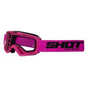 Dětské motokrosové brýle Shot Rocket růžové