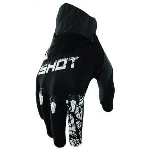 Dziecięce motocrossowe rękawice Shot Devo Slam czarne
