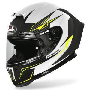 Integralny kask motocyklowy Airoh GP 550S Venon biało-czarno-fluo żółty wyprzedaż