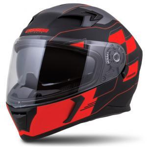 Integralny kask motocyklowy Cassida Integral 3.0 RoxoR czarno-szaro-fluo czerwony