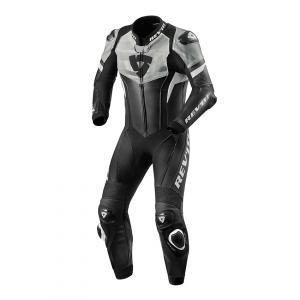 Jednoczęściowy kombinezon motocyklowy Revit Hyperspeed czarno - biały