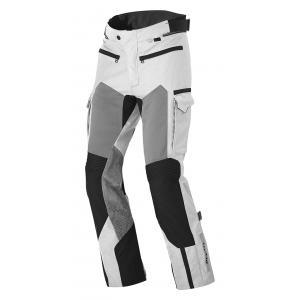 Spodnie motocyklowe Revit Cayenne Pro srebrno-czarne skrócone