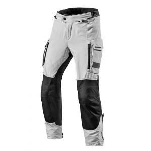 Spodnie motocyklowe Revit Offtrack czarno-srebrne
