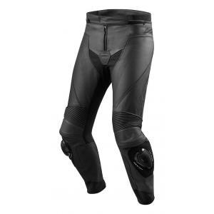 Skórzane spodnie motocyklowe Revit Vertex GT czarne