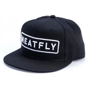 Kšiltovka Meatfly Spon černá