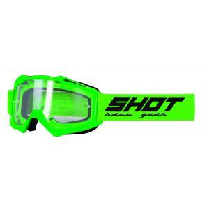 Gogle Shot Assault Solid fluo zielone
