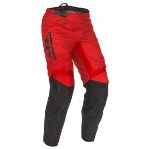 Motocrossowe spodnie FLY Racing F-16 2021 czerwono-czarne