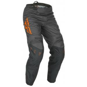 Motocrossowe spodnie FLY Racing F-16 2021 szaro-pomarańczowe