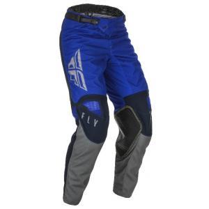Motocrossowe spodnie FLY Racing Kinetic K121 2021 niebiesko-szare