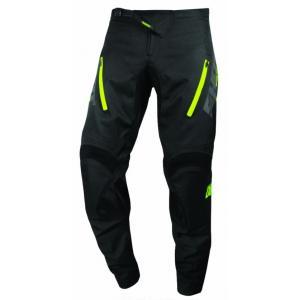 Motocrossowe spodnie Shot Climatic czarno-fluo żółte