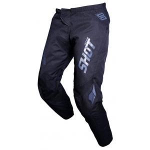 Motocrossowe spodnie Shot Contact Zip czarne