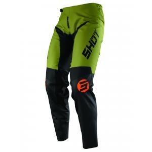 Motocrossowe spodnie Shot Devo Storm czarno-khaki zielone