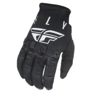 Motocrossowe rękawice FLY Racing Kinetic K121 czarno-białe