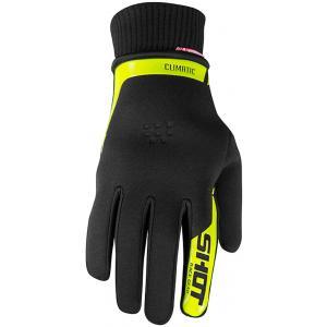 Motocrossowe rękawice Shot Climatic czarno-fluo żółte