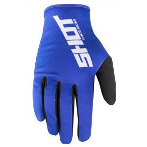Motocrossowe rękawice Shot Devo Raw niebieskie wyprzedaż
