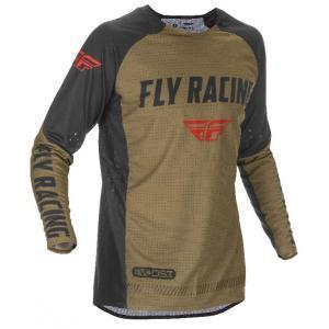Motocrossowa koszulka FLY Racing Evolution 2021 zielono-czarno-czerwony