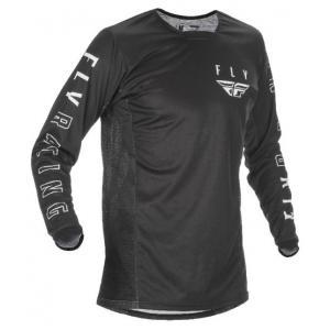 Motokrosový dres FLY Racing Kinetic K121 2021 černo-bílý