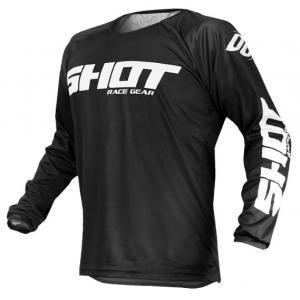 Motocrossowa koszulka Shot Devo Raw czarna