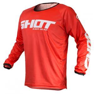 Motocrossowa koszulka Shot Devo Raw czerwona