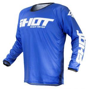 Motocrossowa koszulka Shot Devo Raw niebieska