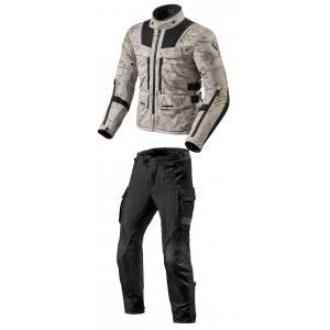 Kombinezon motocyklowy Revit Offtrack piaskowo-czarny