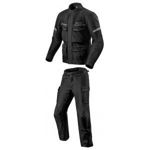 Kombinezon motocyklowy Revit Outback 3 czarno-srebrny