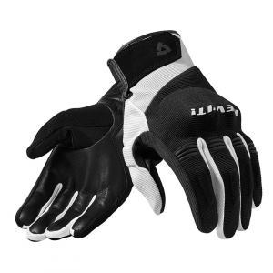 Rękawice motocyklowe Revit Mosca czarno-białe