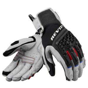 Rękawice motocyklowe Revit Sand 4 czarno-szare
