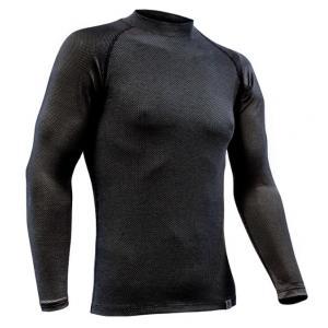 Termo koszulka nanosilver® Raglan szary antracyt - długi rękaw