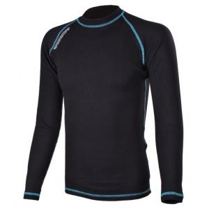 Termo koszulka RSA Heat czarno - niebieska długi rękaw