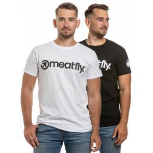 Triko Meatfly 25 Years Pack černé, bílé (2 ks)