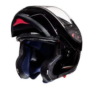 Szczękowy kask motocyklowy MT Atom czarny - II. jakość