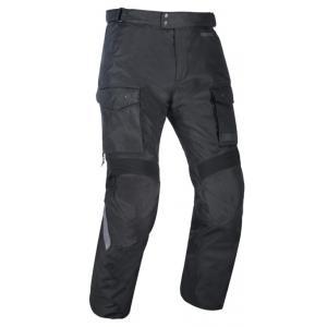 Spodnie motocyklowe Oxford Advanced Continental czarne skrócone