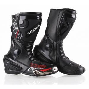 Buty motocyklowe Tschul TX6-Pro czarne - II. jakość