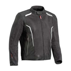 Bunda na motorku IXON Cool Air C černo-bílá
