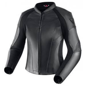 Damska skórzana kurtka motocyklowa Rebelhorn Runner III czarna