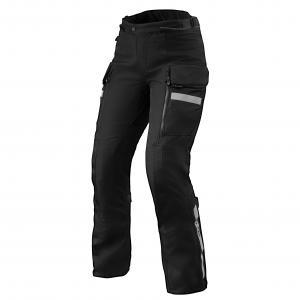 Damskie spodnie motocyklowe Revit Sand 4 H2O czarne