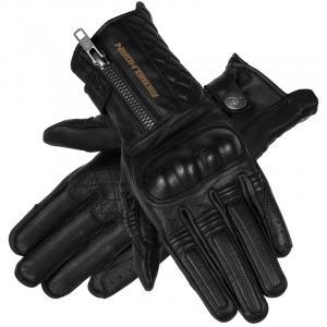Damskie rękawice motocyklowe Rebelhorn Hunter czarne