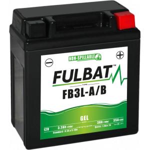 Gel battery FULBAT FB3L-A/B GEL (YB3L-A/B GEL)