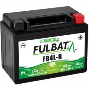 Gel battery FULBAT FB4L-B GEL (High Capacity) (YB4L-B GEL)