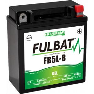 Gel battery FULBAT FB5L-B GEL (YB5L-B GEL)