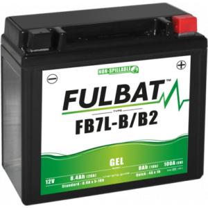 Gel battery FULBAT FB7L-B/B2 GEL (YB7L-B/B2 GEL)