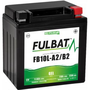 Gel battery FULBAT FB10L-A2/B2 GEL (YB10L-A2/B2 GEL)