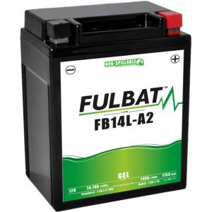 Gel battery FULBAT FB14L-A2 GEL (12N14-3A) (YB14L-A2 GEL)