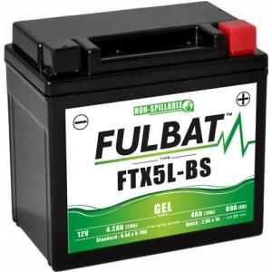 Gel battery FULBAT FTX5L-BS GEL (YTX5L-BS GEL)