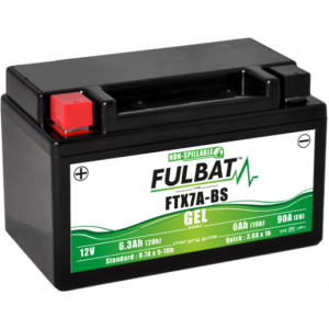 Gel battery FULBAT FTX7A-BS GEL (YTX7A-BS GEL)